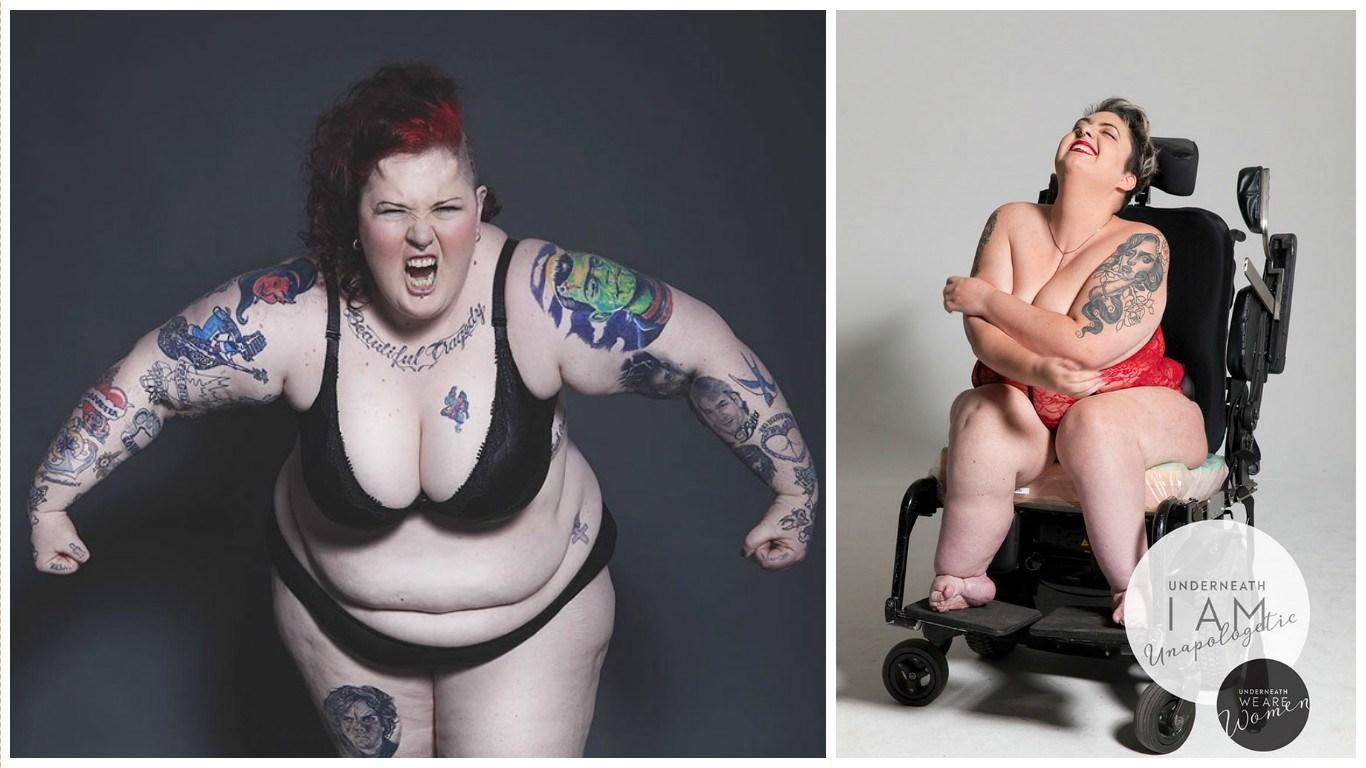 100 sievietes izģērbās, lai lauztu stereotipus par sievietes skaistumu