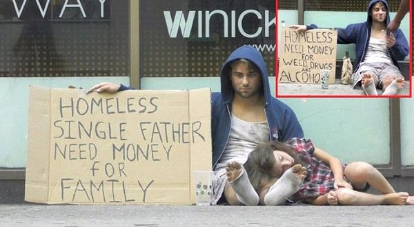 """Šis """"bezpajumtnieks"""" lūdza ēdienu, bet jūs neticēsiet, kas slēpjas viņa garāžā"""