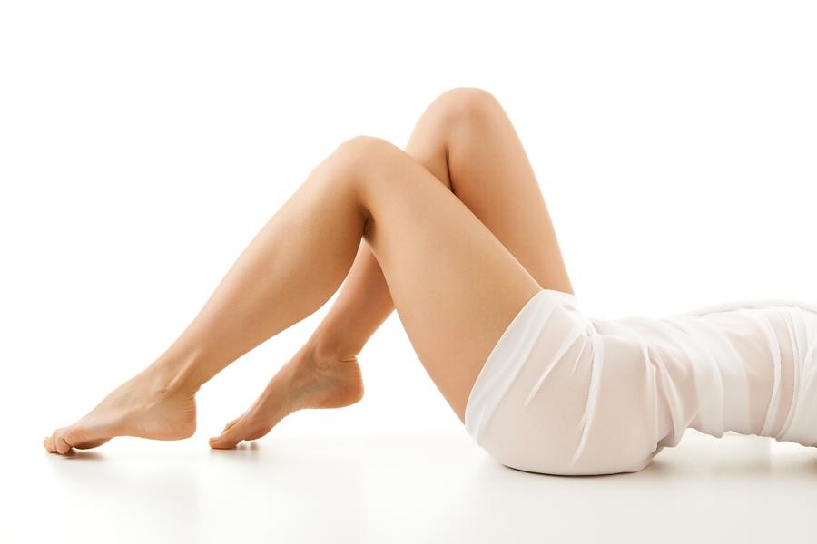 Anticelulīta mālu maska-skrubis: seksīgām kājiņām