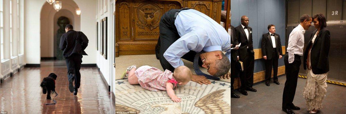 Baltā Nama fotogrāfs parādīja savas mīļākās Obamas fotogrāfijas – uz atvadām