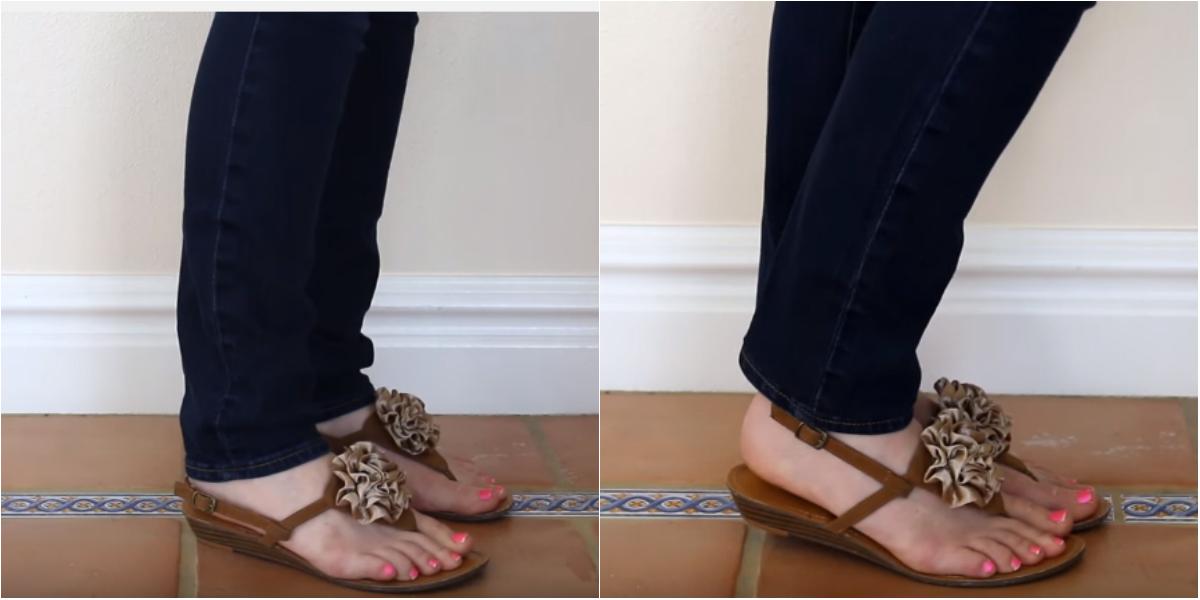 Šis triks palīdzēs jums ātri un viegli samazināt džinsu garumu. Izdosies pat iesācējiem!