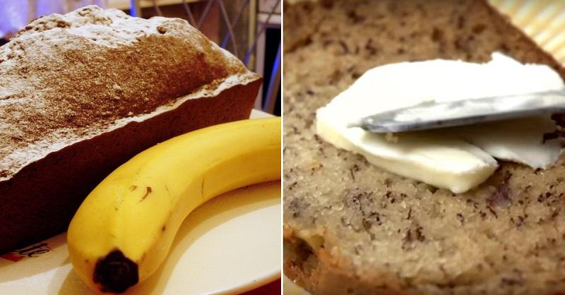 Nepārspējama banānu maize! Ātri samaisu mīklu un pēc mirkļa jau lieku uz galda…