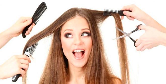 Neticiet savam frizierim, ja viņš jums iesaka šo…