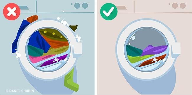 Kā pareizi mazgāt veļu, lai to nesabojātu?