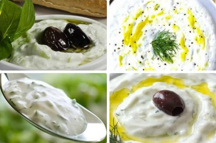 Neticami gardas un veselīgas uz jogurta bāzes gatavotas mērces