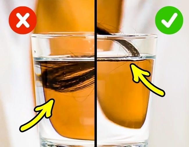 Šis tests 1 sekundes laikā parādīs, vai jūsu mati ir veseli