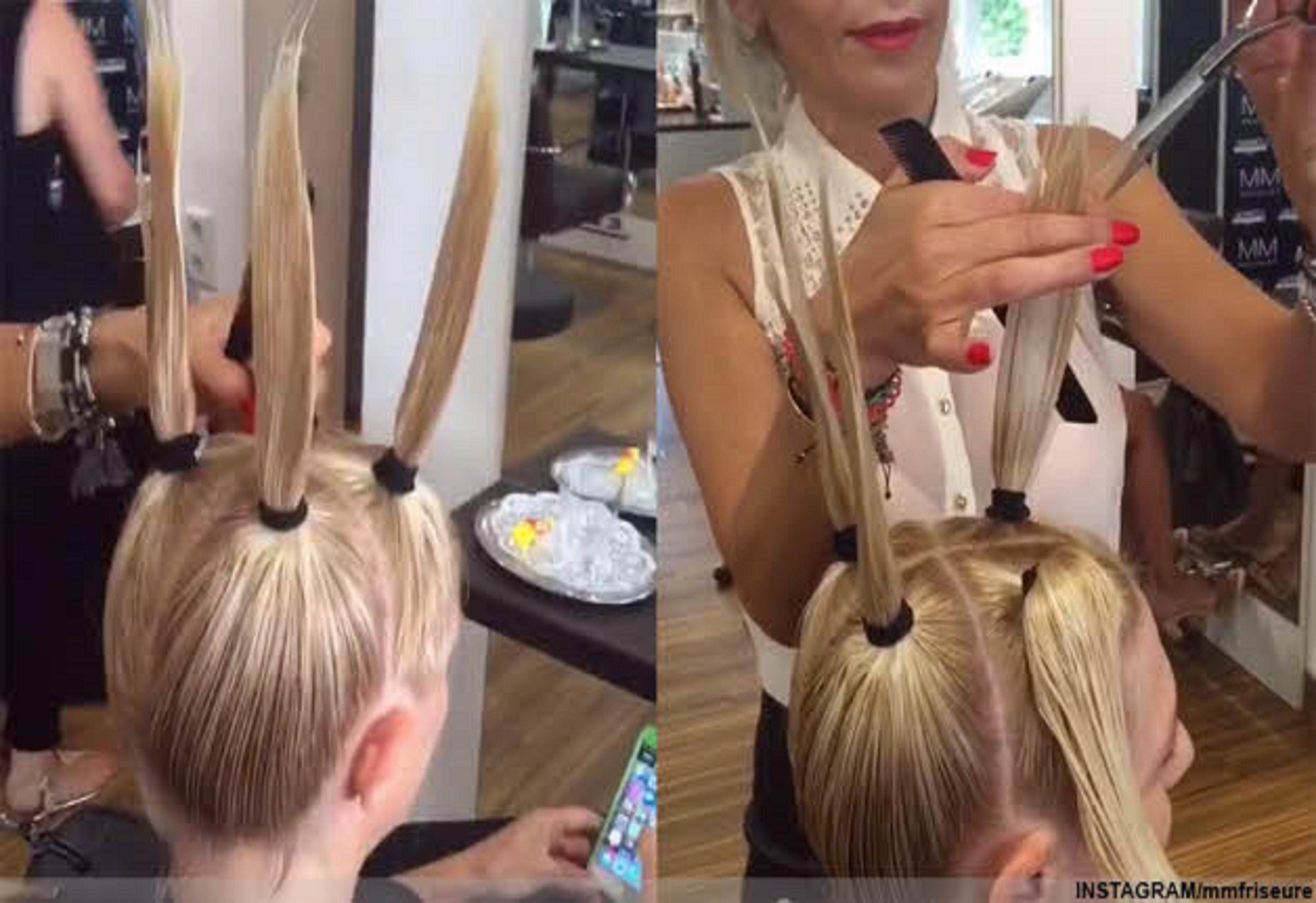 Izrādās, ka mums visiem frizētavā nepareizi griež matus. Lūk, ko ar matiem dara šī meistare!