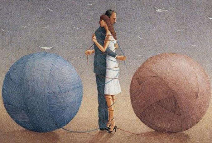 Atšķirība starp mīlestību un pieķeršanos