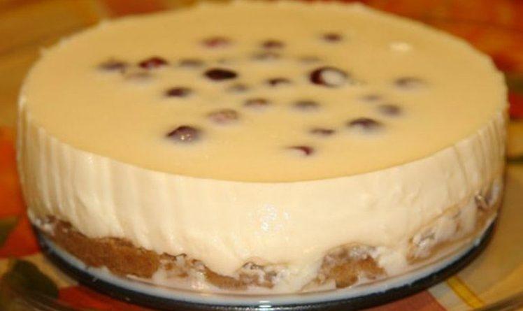 Siera kūka ( čīzkeiks) ar iebiezināto pienu un bez cepšanas… brīnišķīgs deserts! Visas draudzenes jau pierakstīja recepti….
