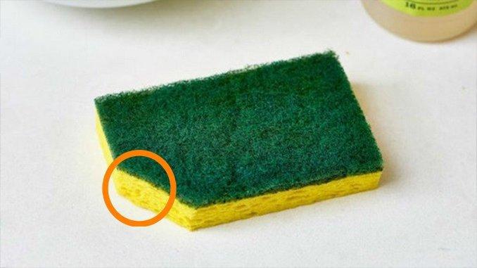 Kādēļ nepieciešams apgriezt mazgājamās švammes galu?