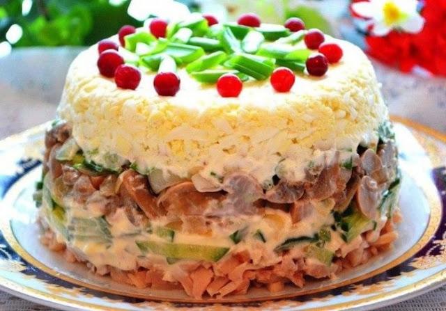 """Salāti """"Irina' – ļoti maigi salāti"""