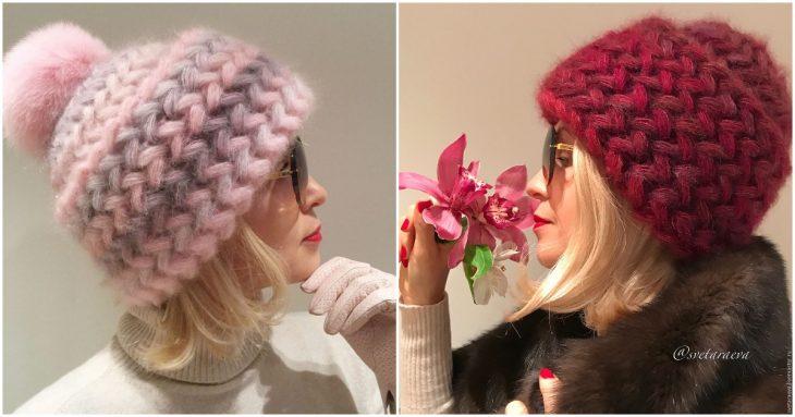 Pašu darināta, stilīga un silta cepure aukstam laikam
