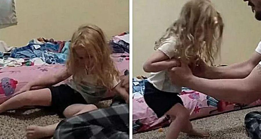 Mamma atveda meitu uz slimnīcu. Ārsts tikai apskatīja viņas matus un visu saprata!
