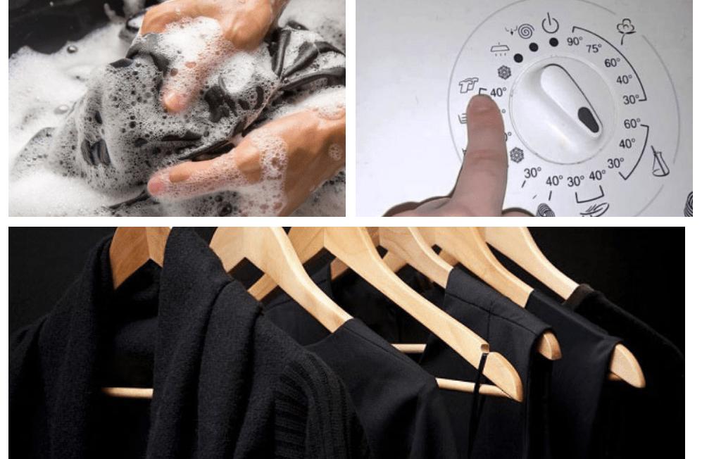 Noderīgi padomi saudzīgai melnās veļas mazgāšanai. Noteikti noderēs