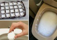 Kā tikt galā ar nepatīkamiem traipiem tualetes podā. Tam pat nevajadzēs birsti. Viegli un vienkārši!
