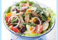 """Diētiskie salāti """"Nica"""" vēlām vakariņām! Uz 100 gramiem tikai 98 kilokalorijas!"""
