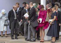 Keita Midltone a-la Merilina Monro: vējš pacēla hercogienes kleitu princeses kāzās – foto