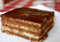 Eleganta torte tikai 25 minūšu laikā. Pats galvenais – tā nav jācep!