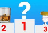 Kaitīgāko alkoholisko dzērienu reitings. Esmu šokā par to , kas tad atrodas pirmajā vietā!