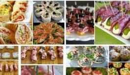 22 garšīgu, vieglu un oriģinālu uzkodu idejas