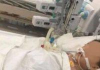 2 gadus vecam mazulim ir vajadzīgas jaunas aknas paracetamola pārdozēšanas dēļ. Nabaga bērns!