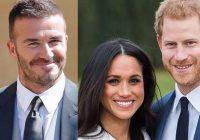 Megana Mārkla izraisīja strīdu starp princi Hariju un Deividu Bekhemu…