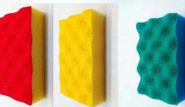 Kāpēc trauku mazgāšanas švammītēm ir dažādas krāsas. To nezina 99% cilvēku!