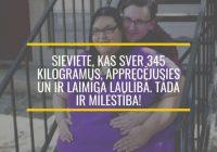 Sieviete, kas sver 345 kilogramus, apprecējusies un ir laimīga laulībā. Tāda ir mīlestība!