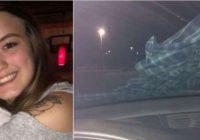 Ja uz automašīnas vējstikla pamanāt kreklu, nekavējoties aizslēdziet durvis