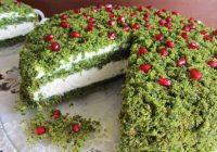 """Pavasarīgākā kūka no visām kuras esmu redzējusi: """"Sūnu kūka"""""""